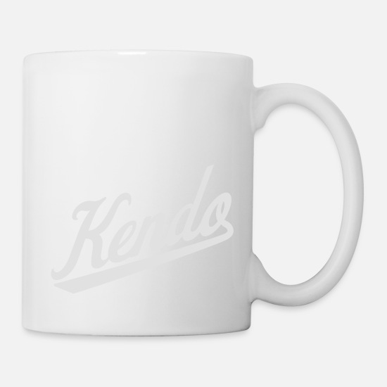 Martial Arts Mugs & Drinkware - Kendo - Mug white