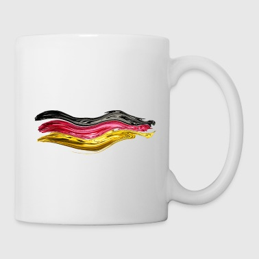 Germania Germania bandiera Germania bandiera WM - Tazza