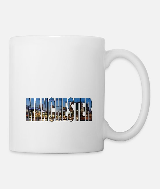 Artist Mugs & Drinkware - Manchester UK - Mug white