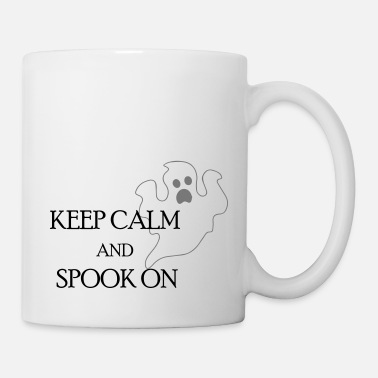 Keep Calm And keep calm and spook on - Tasse