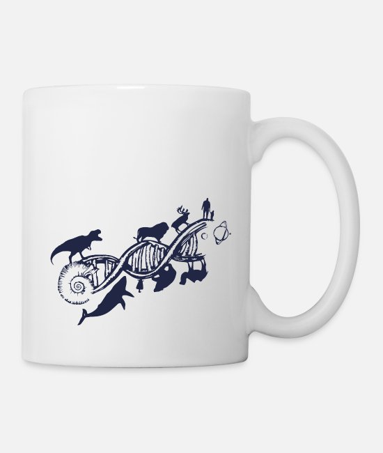 Darwin Mugs & Drinkware - evolution - Mug white
