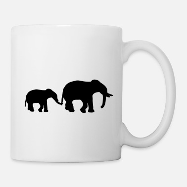 Mother Elephant Mother - Tazza