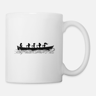 Scottish Coastal Rowing Association pretty maids all in a row - Mug
