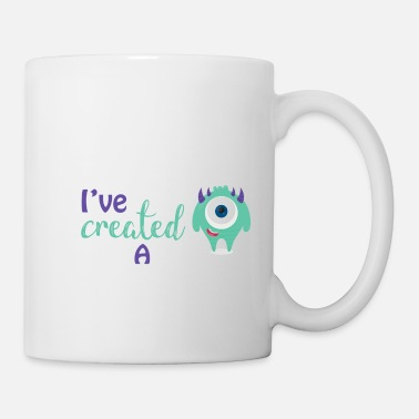 Mère Parents - enfants - Partnerlook - parents Monster - Mug