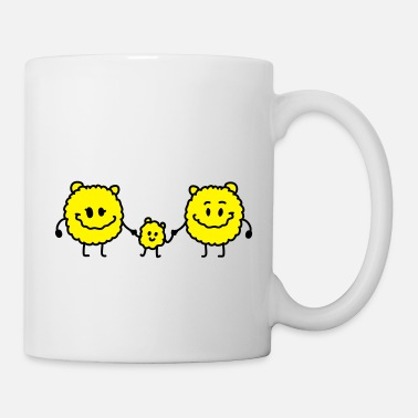 Monsterchen Mama Papa Kind - Monsterchen - Tasse