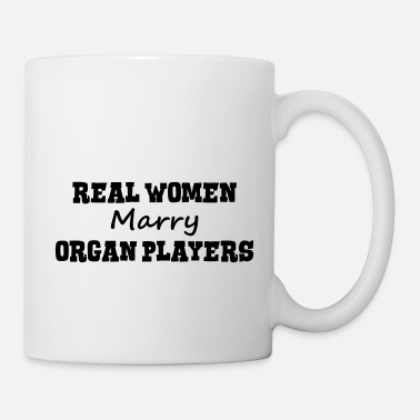 Real Player organ players real women marry bride hen - Mug