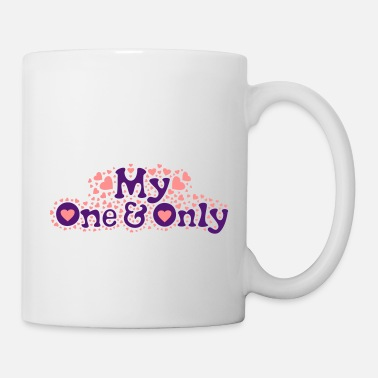 Wedding Day ❤Ü✦My One and Only-Romantic Love and Hearts✦Ü❤ - Mug