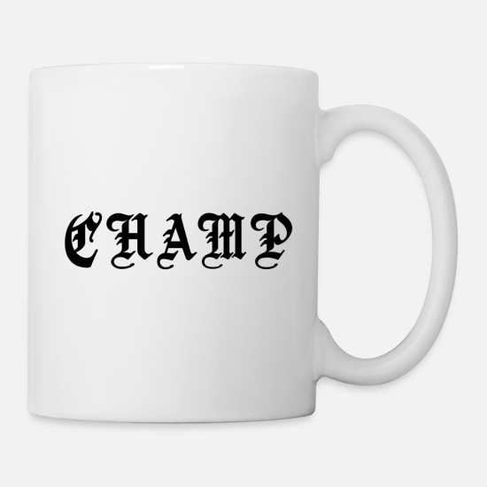 World Champion Mugs & Drinkware - CHAMP - Mug white