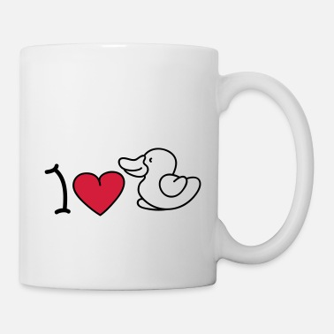 Bec I love ducks - Mug