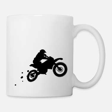 Tazza smaltata da motociclista Cafe Racer Motorcycle Chopper Bobber Moto