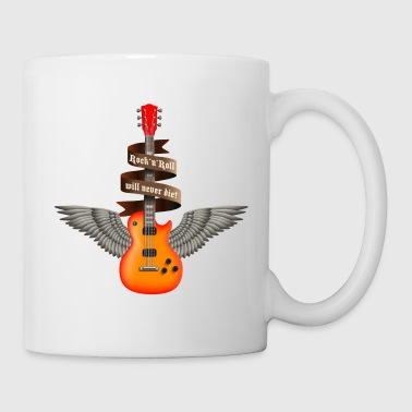 rock_guitar_a_red - Taza