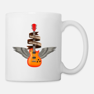 Heavy Metal rock_guitar_a_red - Taza