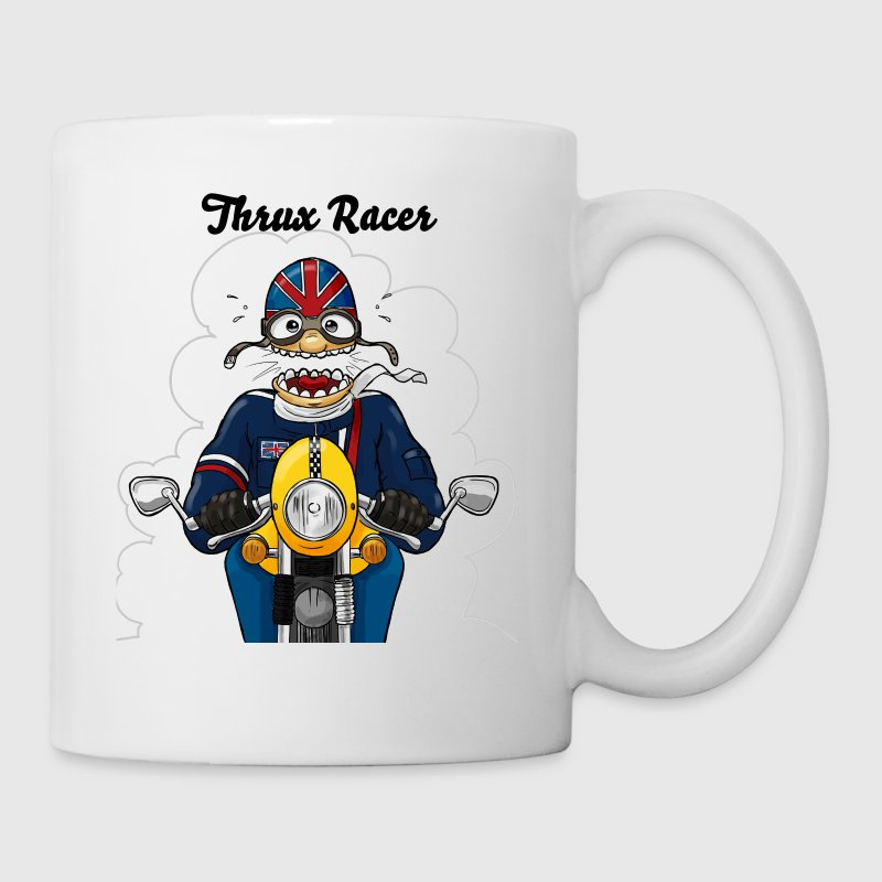 Cafe Racer yellow - Tasse