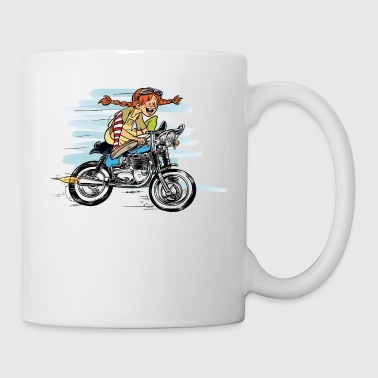 Cheeky Girl Racer - Tasse