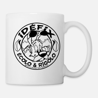 Officialbrands &amp Asterix & Obelix - Idefix Ecol & Rigolo Teenager T - Mug