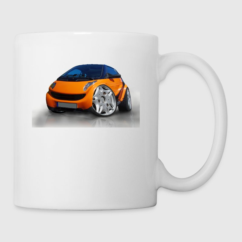 Smart, For two, Auto, Tuning, lustig - Taza