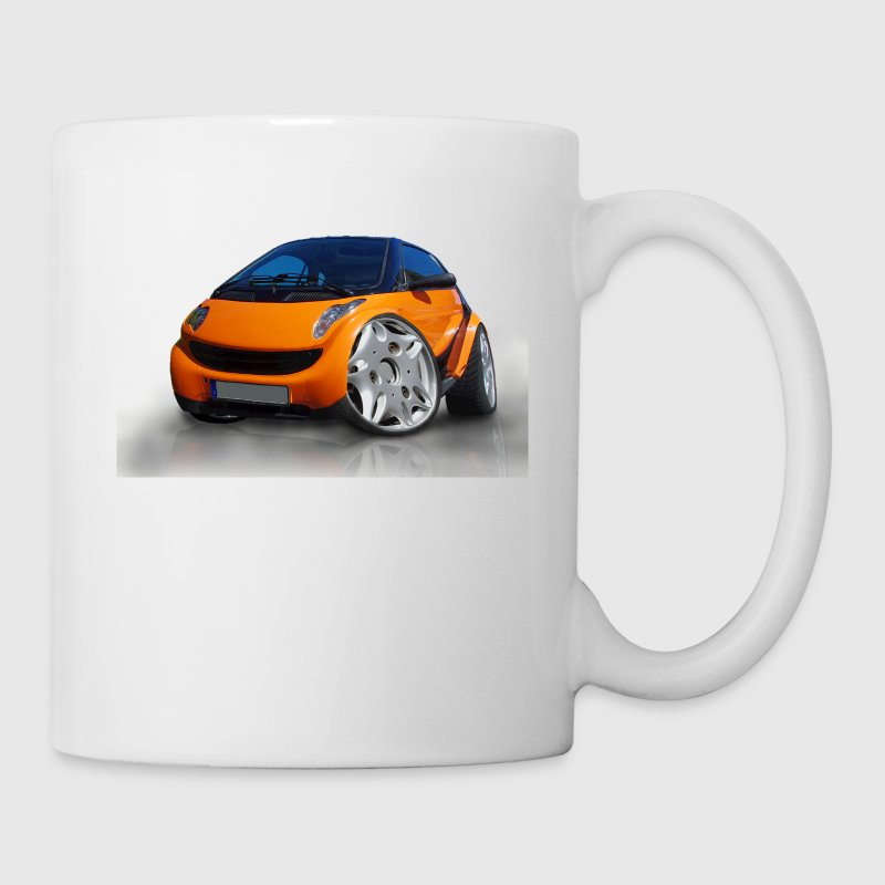 Smart, For two, Auto, Tuning, lustig - Tasse