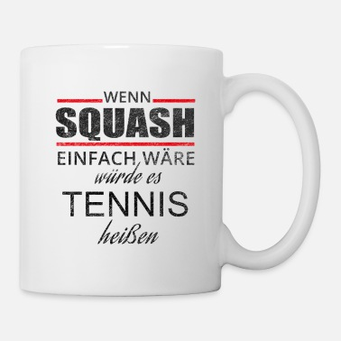 Squash SQUASH EASY - squash and racquetball shirt - Mug