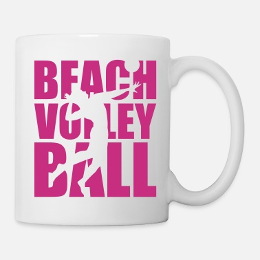 Beachvolleyball Beachvolleyball - Tasse