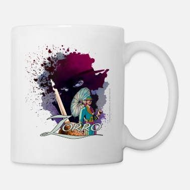 Officialbrands Zorro Don Diego Avenger And Nobleman Painting - Mug