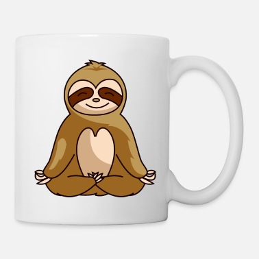 Chill Sloth relax chill relax gift - Mug