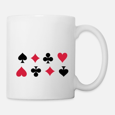 Cards Card Suits - Mug