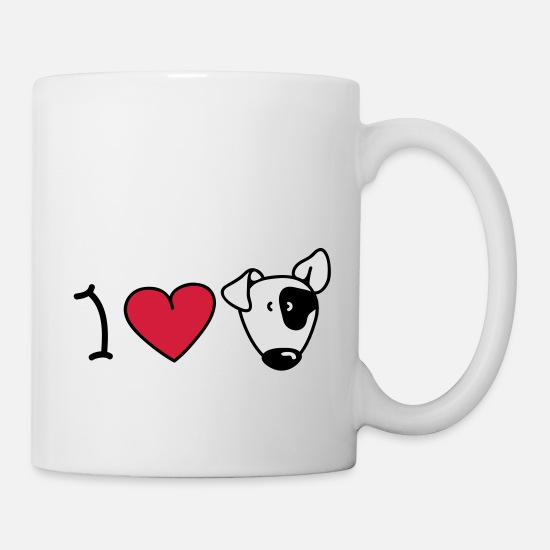 Birthday Mugs & Drinkware - I love dogs - Mug white