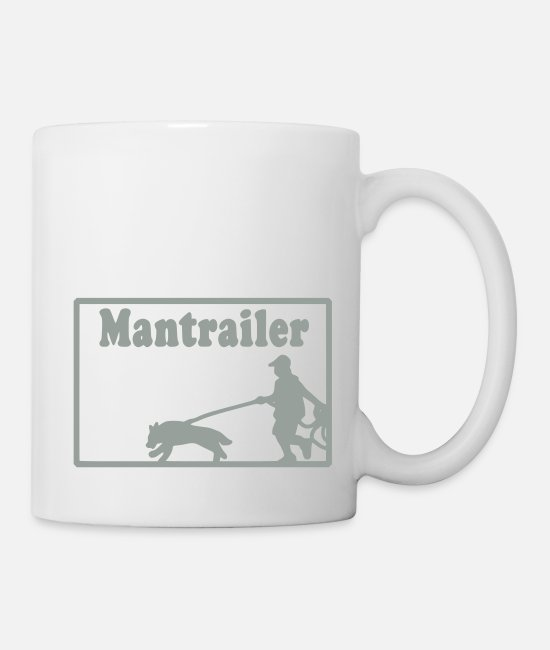 Training Mugs & Drinkware - mantrailer_motiv - Mug white