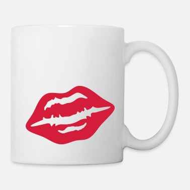 Smooch lips_women__f1 - Mug