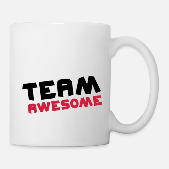 Party Tazze & Accessori - Team Awesome - Tazza bianco