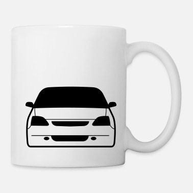 Kolben JDM Car eyes EP3 | T-shirts JDM - Tasse