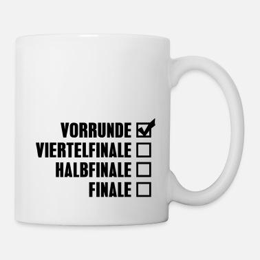 FUSSBALL Keramik Tasse SCHWEDEN FAN KaffeeBecher WM 2018 FANARTIKEL