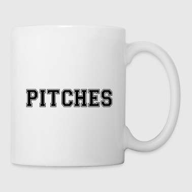 Pitch pitches - Mug