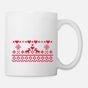 Noel Christmas Embroidery - Mug