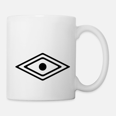 Awareness Eye of a Medicine Man Symbol, wisdom and awareness - Mug