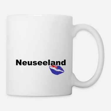 Christchurch Neuseeland - New Zealand - Kuss Kiss Love Aotearoa - Tasse