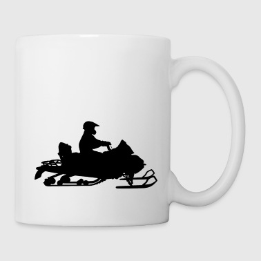 Snowmobile moto de nieve snowmobile - Taza