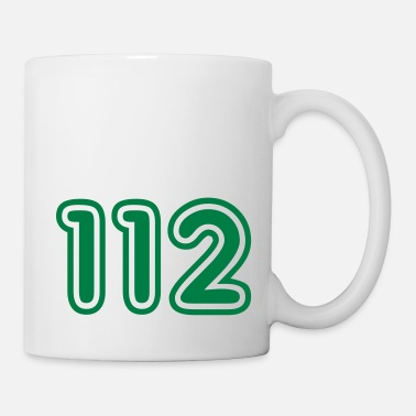 Retro Car 112, Green College, Nummer, Zahlen, Numbers, - Mug