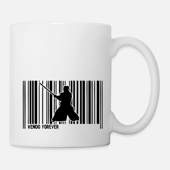 Bar Mugs & Drinkware - barcode kendo - Mug white