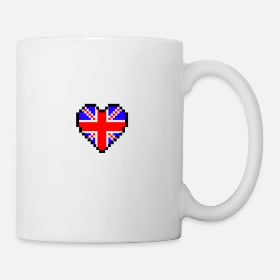 Love Mugs & Drinkware - I love UK - Mug white