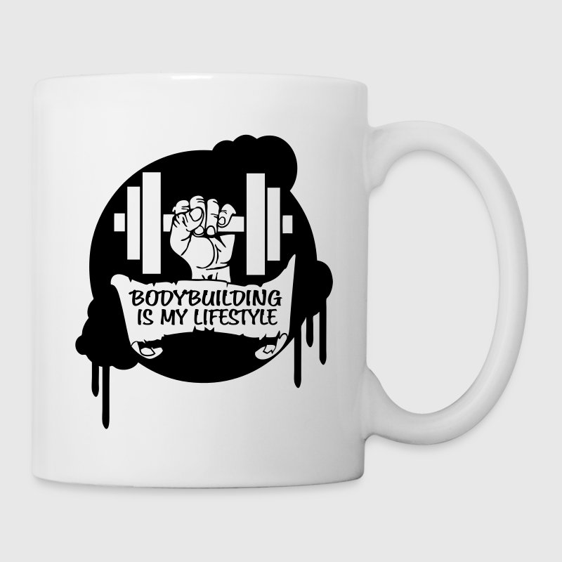 Bodybuilding is my Lifestyle Drips Direct - Mug