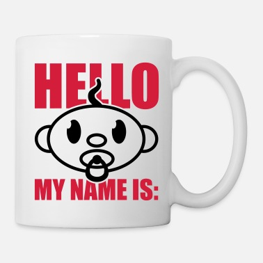 Prénom baby_hello_my_name_is_gi2 - Mug