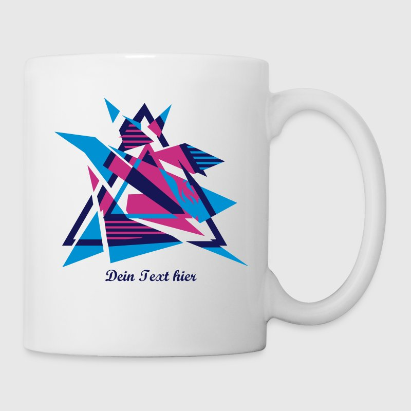 Hipster Triangle Design - Mug