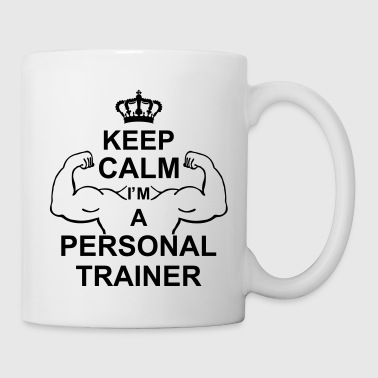keep_calm_i'm_a_personal_trainer_g1 - Kubek