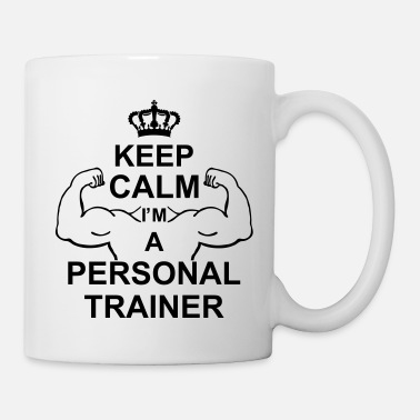 keep calm i'm a personal trainer kg10 - Kubek