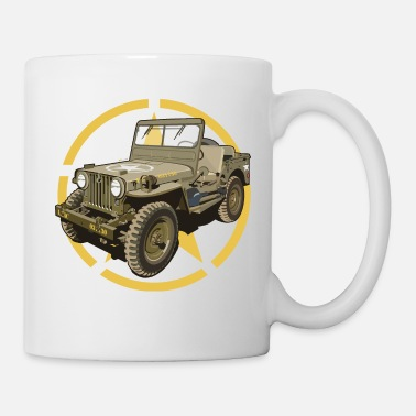 Jeep Off-road militair voertuig - Mok