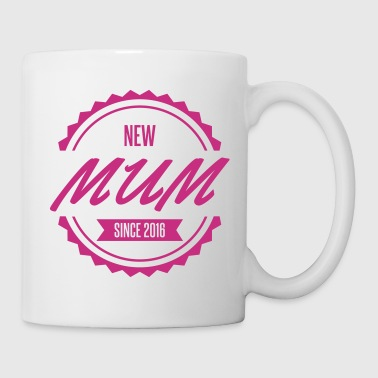 new mum since 2016 - Mug blanc