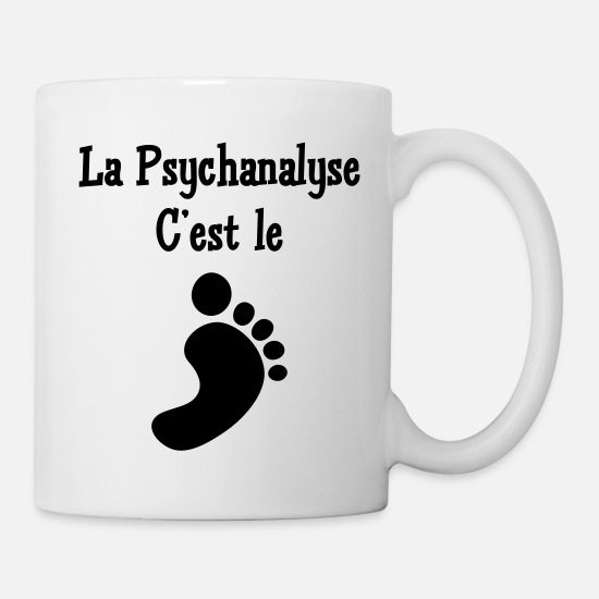 Psychologist Mugs & Drinkware - Psychologist Psychologe Psychologue Psychology - Mug white
