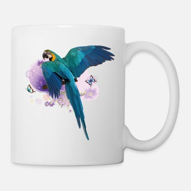 Parrot Yellow-blue macaw - Mug