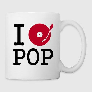 I dj / play / listen to pop - Mug